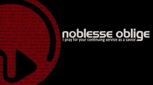 Noblesse Oblige (alt. 1)